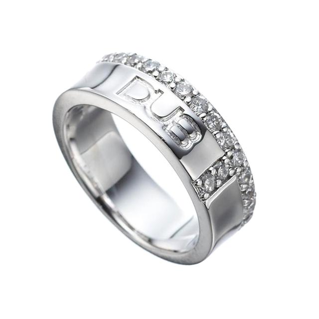 【DUB collection ダブコレクション】 Hidden Cross ring DUBj-186-1(WH)【メンズ】