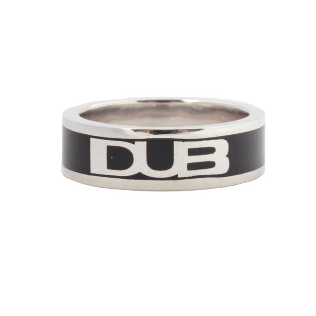 【DUB Collection│ダブコレクション】DUB logo line ring ダブ ロゴ ライン リング DUBj-193-1【メンズ】