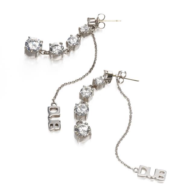 【DUB collection|ダブコレクション】 glitter pierces DUBj-196-1(WH)【レディース】