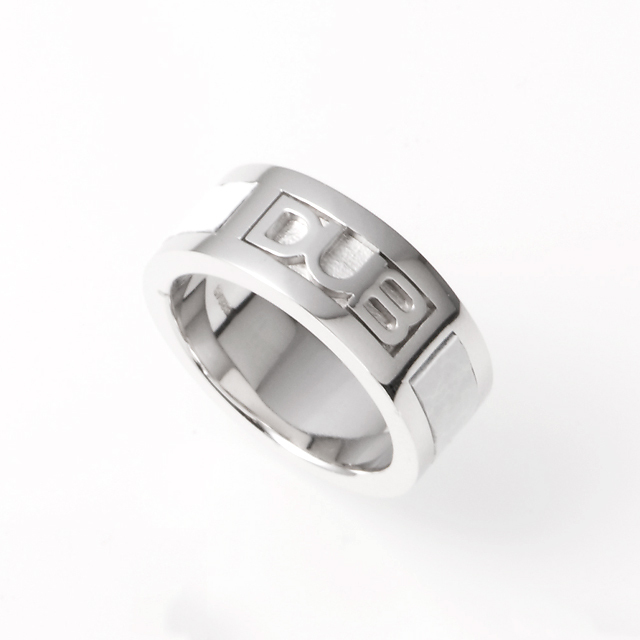 【DUB Collection|ダブコレクション】DUB leather work Ring DUBj-213-2(WH)【ユニセックス】