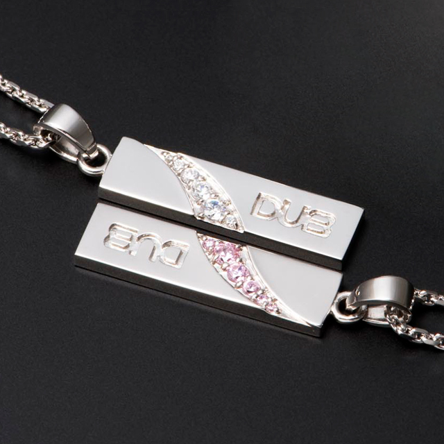 【DUB Collection|ダブコレクション】Forge a bond Pair Necklace フォージアバンドペアネックレス DUBj-216-Pair【ペア】