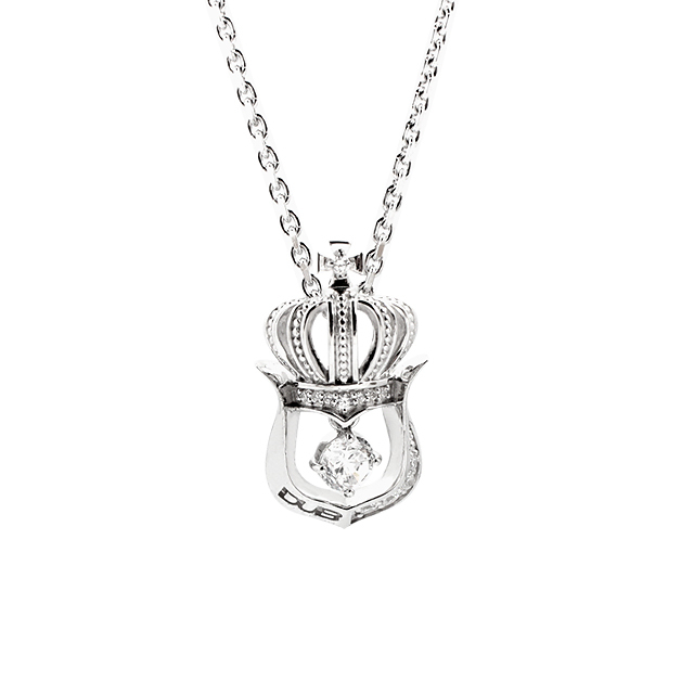 【DUB collection|ダブコレクション】Crown Horseshoe Necklace クラウンホースシューネックレス DUBj-248-2【ユニセックス】