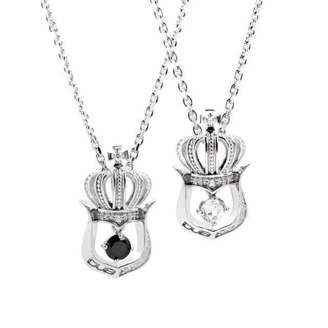 【DUB collection|ダブコレクション】Crown Horseshoe Pair Necklace クラウンホースシューペアネックレス DUBj-248-Pair【ペア】