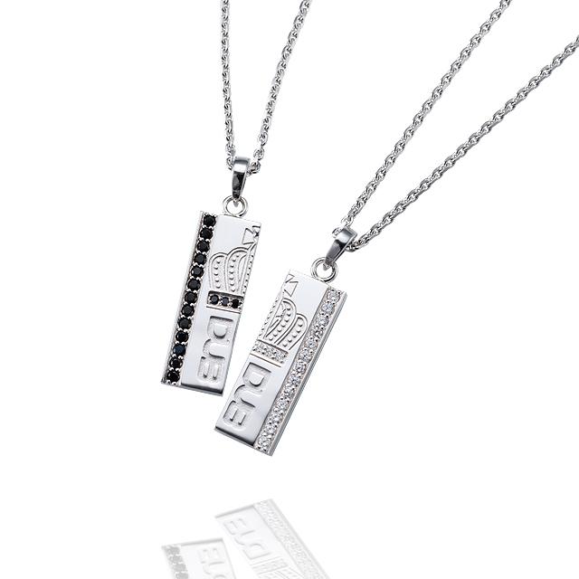 【DUB collection|ダブコレクション】Join Crown Pair Necklace ジョインクラウンペアネックレス DUBj-262-Pair【ペア】