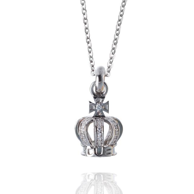 【DUB collection|ダブコレクション】Tiny Crown Necklace タイニークラウン ネックレス DUBj-264-1【ユニセックス】