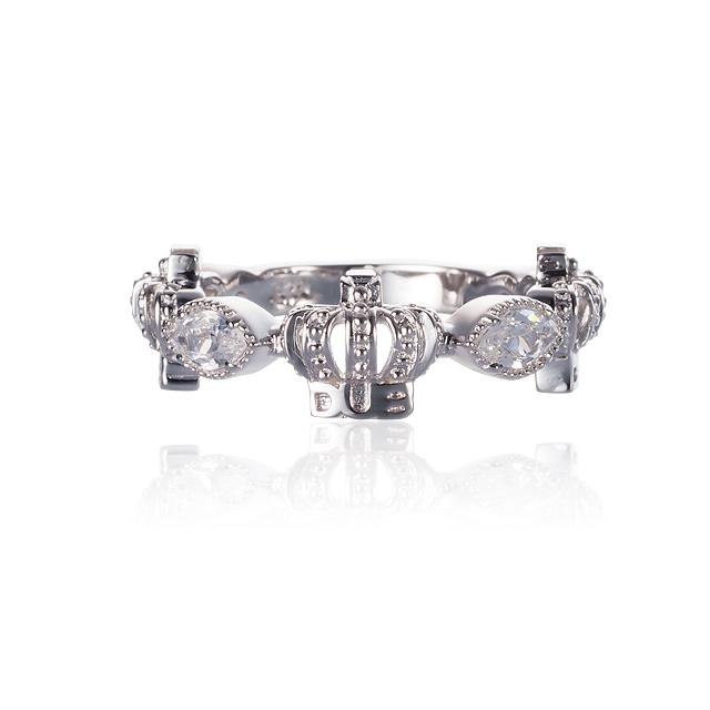 Men's JOKER掲載!!【DUB collection|ダブコレクション】Classical Crown Ring クラシカルクラウンリング DUBj-267-2【ユニセックス】 根本弥生(ねもやよ)着用アイテム!