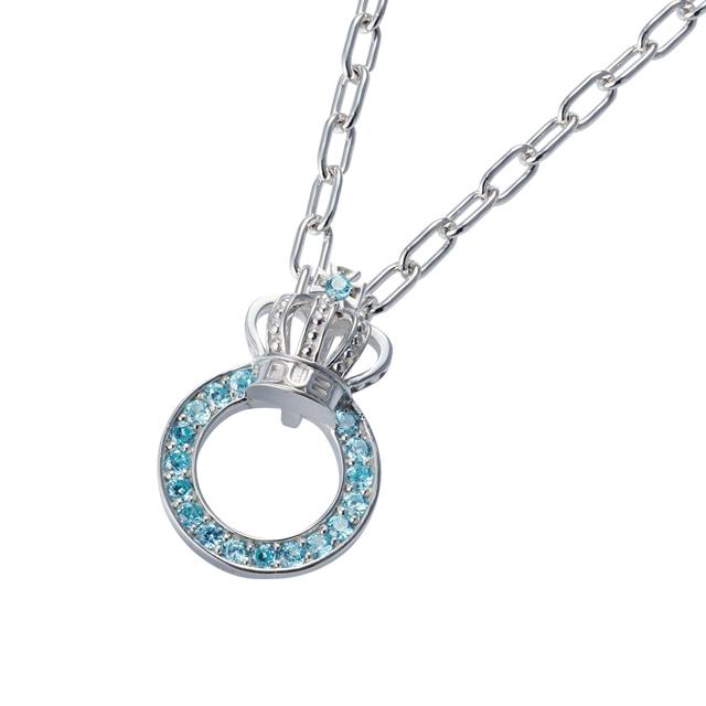 【DUB Collection│ダブコレクション】Crown ring Necklace クラウンリングネックレス DUBj-296-3【ユニセックス】