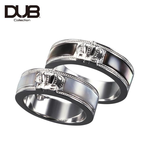 かずへー・かなへー愛用【DUB Collection│ダブコレクション】Crown Shell Pair Ring クラウンシェルペアリング DUBj-309-Pair【ペア】