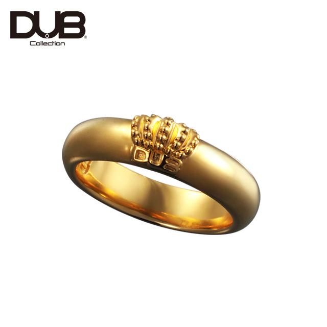 【DUB Collection│ダブコレクション】Crown Domed Ring クラウンドームリング DUBj-310-2【ユニセックス】