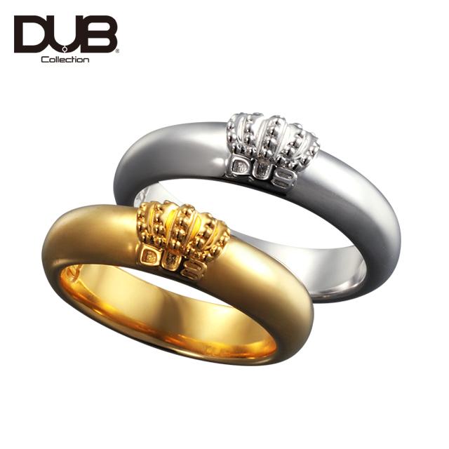【DUB Collection│ダブコレクション】Crown Domed Ring クラウンドームリング dubj-310-pair【ペア】