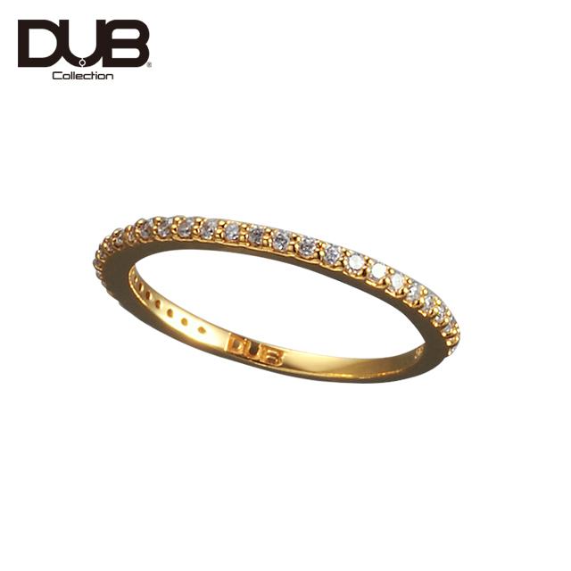 【DUB Collection│ダブコレクション】DUB half eternity Ring ダブハーフエタニティリング DUBj-311-2【レディース】