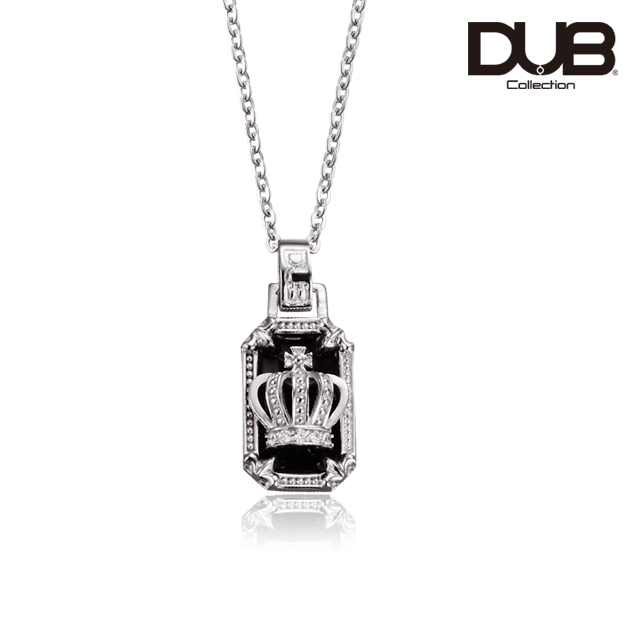【DUB Collection│ダブコレクション】Crown frame Necklace  クラウンフレームネックレス  DUBj-317-1【ユニセックス】