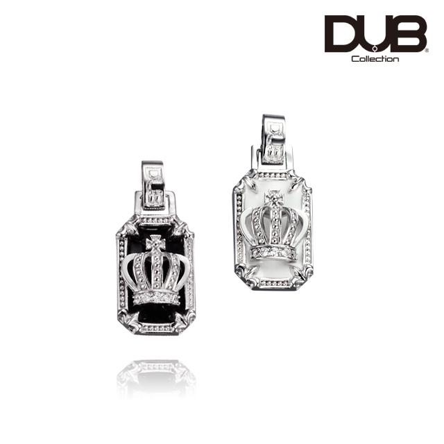 【DUB Collection│ダブコレクション】Crown frame Necklace Top クラウンフレームネックレストップ DUBj-317-TOP【ユニセックス】