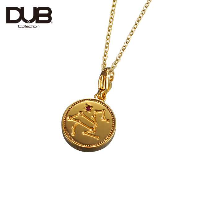 【DUB Collection│ダブコレクション】Constellation Necklace コンステレーションネックレス DUBj-318-2【ユニセックス】【12星座/星座石】