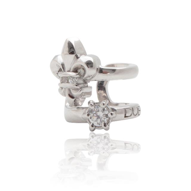 【DUB Collection│ダブコレクション】Classial Lilly Ear cuff クラシカルリリィ イヤーカフ DUBj-348-1【レディース】
