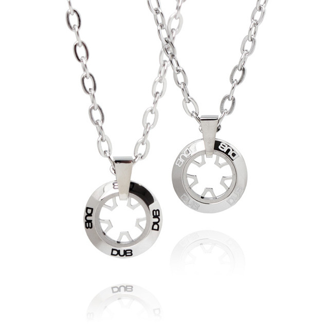【DUB Collection│ダブコレクション】  DUBJSS-19-Pair stainless necklace ステンレスネックレス