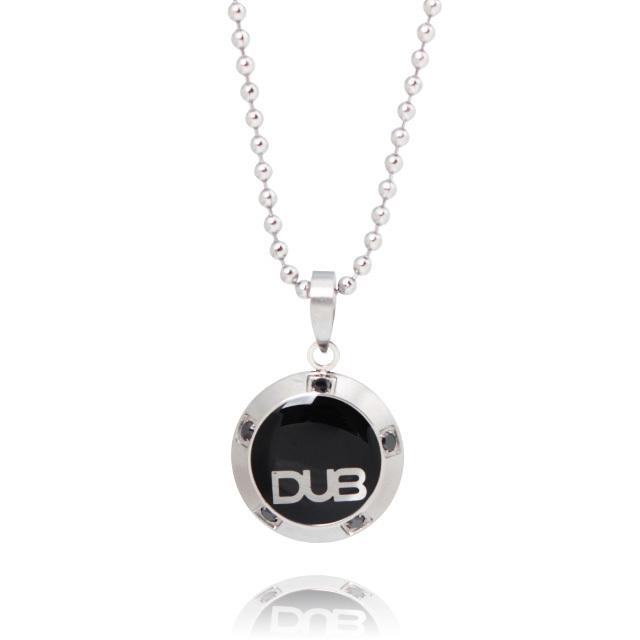 【DUB Collection】 DUBjss-25-bk ステンレスネックレス 【ユニセックス】