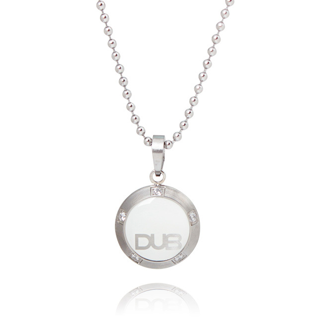 【DUB Collection】 DUBjss-25-wh ステンレスネックレス 【ユニセックス】