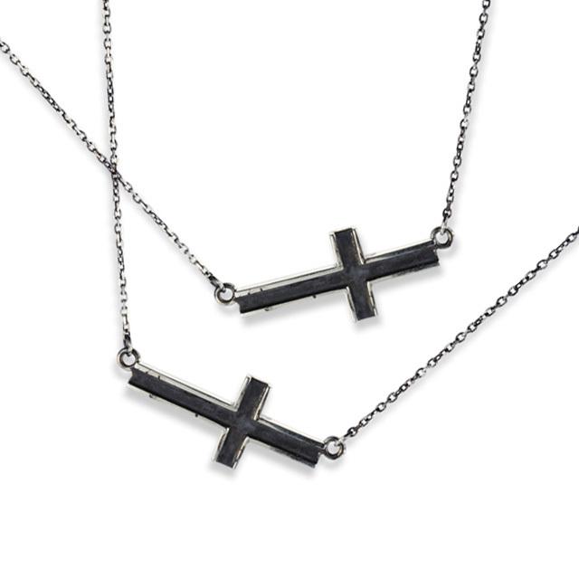 【DUB公式通販サイト限定】Side Cross Necklace Pair サイドクロスペアネックレス DUBjt-10-10【ペア】