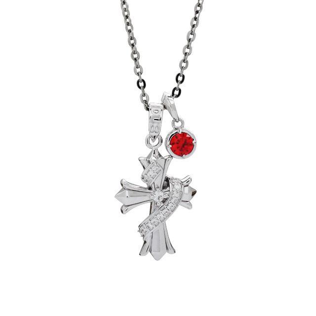 【個数・期間限定】【DUB Collection│ダブコレクション】HAN-KUN model Twined Cross&Round Cross Necklace トゥワインドクロス&ラウンドクロスネックレス DUB-C025-026【HAN-KUNコラボ】