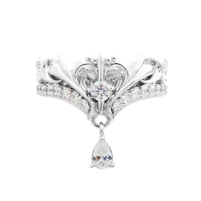 【DUB Collection│ダブコレクション】桜井莉菜 model Heart Tiara Ring ハートティアラリング DUB-C021-1【さくりなコラボ】