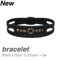 【BANDEL バンデル】 BANDEL bracelet (バンデルブレスレット)(ブラックゴールド)