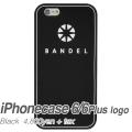 【BANDEL バンデル】BANDEL スマートフォンケース iPhonecase 6/6Plus対応(ブラックロゴ)