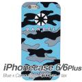 【BANDEL バンデル】BANDEL スマートフォンケース iPhonecase 6/6Plus対応(ブルーカモフラージュロゴ)
