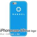 【BANDEL バンデル】BANDEL スマートフォンケース iPhonecase 6/6Plus対応(ブルーロゴ)