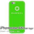 【BANDEL バンデル】BANDEL スマートフォンケース iPhonecase 6/6Plus対応(グリーンロゴ)