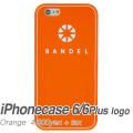 【BANDEL バンデル】BANDEL スマートフォンケース iPhonecase 6/6Plus対応(オレンジロゴ)