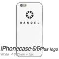 【BANDEL バンデル】BANDEL スマートフォンケース iPhonecase 6/6Plus対応(ホワイトロゴ)