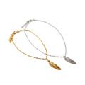 【DUB Collection│ダブコレクション】Feather Chain Bracelet フェザーチェーンブレスレット DUB-C020
