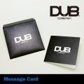 DUB Collection|DUB original message cardBK/