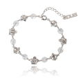 DUB collectionAttractive Bracelet DUBj-257-2(WH)