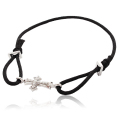 DUB CollectionCross Cord Bracelet ? DUB-273-1(BK)