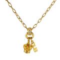 【DUB collection|ダブコレクション】Sway Crown Necklace スウェイクラウンネックレス DUBj-287-2【ユニセックス】