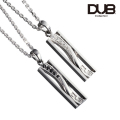 【DUB collection|ダブコレクション】Knot Pair Necklace ノットペアネックレス DUBj-314-Pair【ペア】