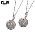 【DUB Collection│ダブコレクション】Constellation Pair Necklace コンステレーションペアネックレス DUBj-318-1Pair(SV)【ペア】【12星座/星座石】