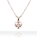 【DUB Collection Sweet|ダブスウィート】Classical  Heart Necklace DUBjp-26【レディース】桜井莉菜着用
