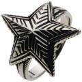 【ホワイトメタルアクセサリー リング・指輪】 ソロスターリング r5054