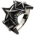 【ホワイトメタルアクセサリー リング・指輪】 トリニティスターリング r5055