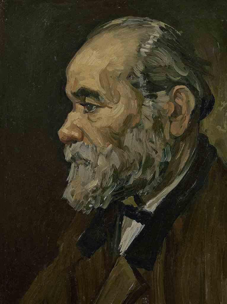 あごひげの老人の肖像