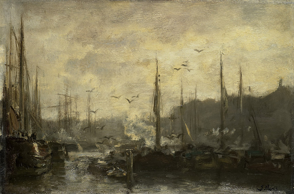 ヤコブ・マリス港の風景