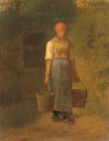 ジャン=フランソワ・ミレー水を運ぶ女