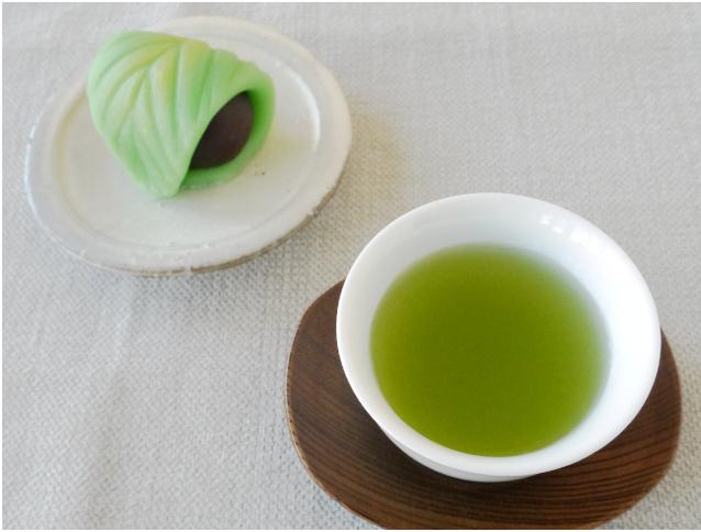 知覧新茶50g お茶と菓子