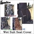 《水濡れに強いウエットスーツ素材》【IGNITE・イグナイト】SUIT COVER・シートカバー・IGSC