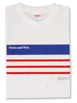Tシャツ OSS!! ニース (白) 画像