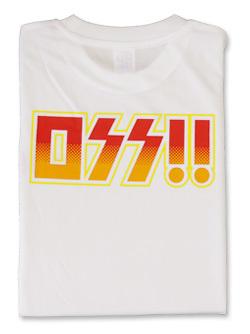 Tシャツ OSS!! ロックバンド (白) 画像