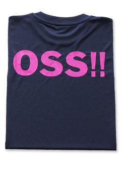 OSS!! クラシック Tシャツ 紺ピンク (紺) 画像